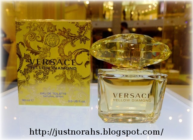 just norahs versace yellow diamond fragrance launch. Black Bedroom Furniture Sets. Home Design Ideas