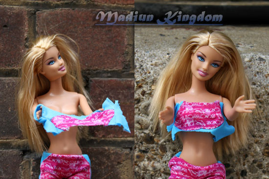 Beredar Foto Topless Kate Middleton Versi Boneka Barbie [ www.Bacaan.ME ]