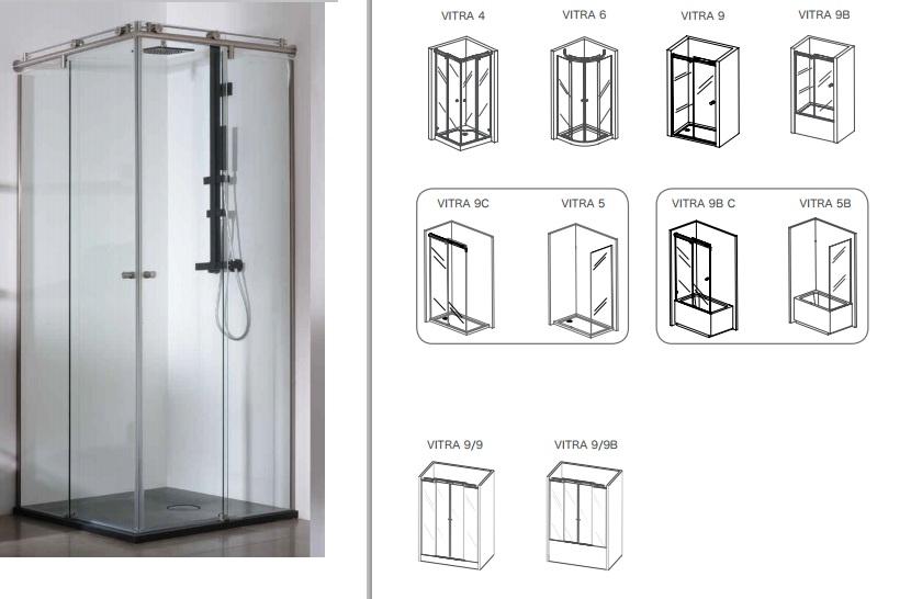 Platos de ducha y mamparas agrein reformas e instalaciones for Ver platos de ducha y precios