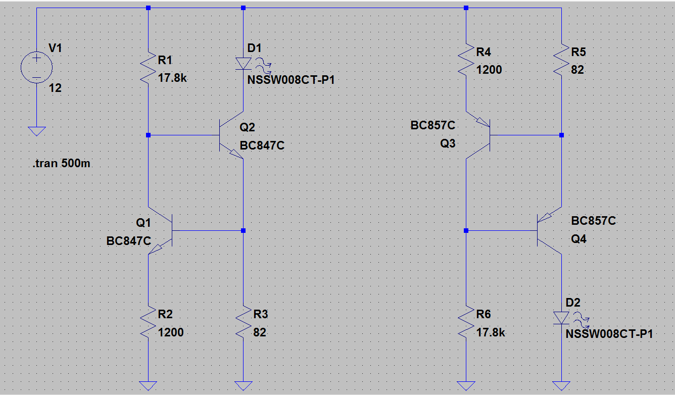 My Home Rf Lab Circuit Diagram Currents In The Darlington Pair Operation Is Strait Forward Left Voltage Present On R1 Causes A Small Current To Go Through Base Of Q2 Emitter
