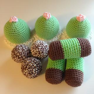 virka kaka present kakor dammsugare chokladbollar dopgåva tips inspiration mönster