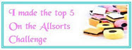 Woohooo!!!  I made the Top 5!