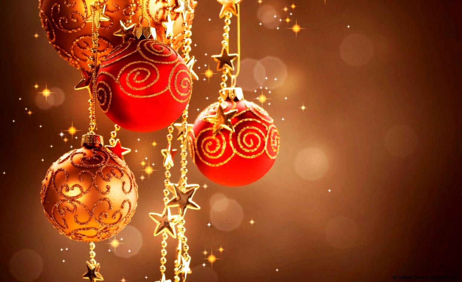 Christmas Bokeh Wallpaper All Hd Wallpapers