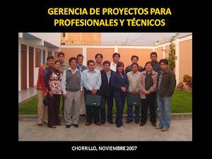 CHORRILLO, PERÚ, NOVIEMBRE 2007