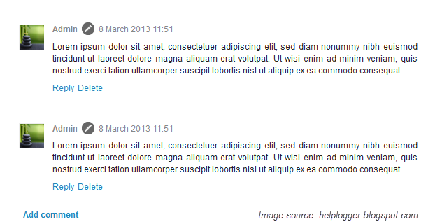How to customize blogger comments by adding a background color and customize comments blogger maxwellsz