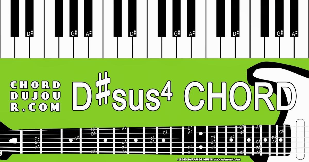 Chord Du Jour Dictionary Dsus4 Chord