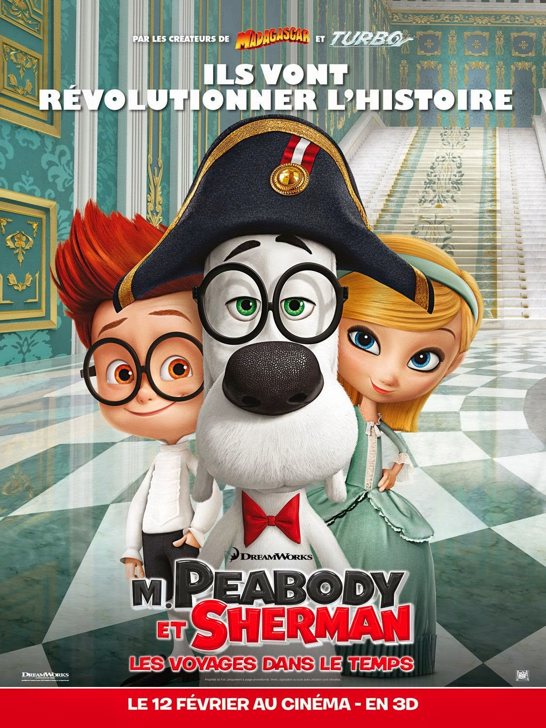 Mr. Peabody & Sherman (2014) Movie Poster