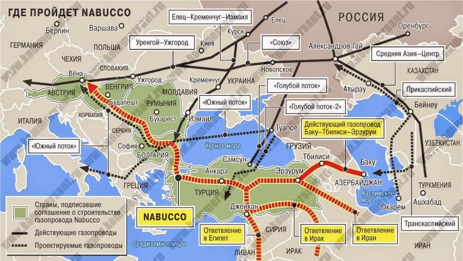 Туркмения достраивает газопровод для Европы