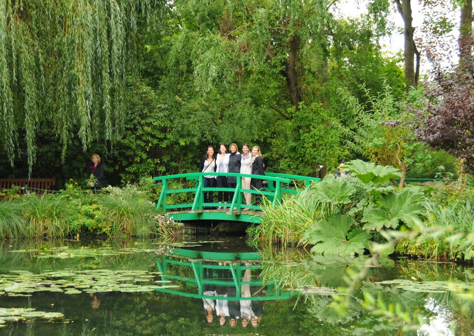 Lesli douglass day 11 giverny le jardin des plumes for Le jardin des plumes