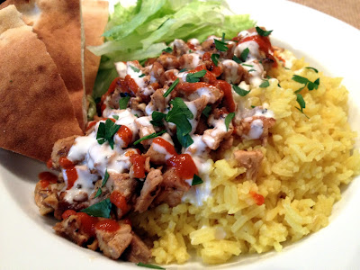 Headspace: NYC Halal Cart Chicken and Rice