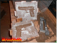 foundry sand casting cope and drag
