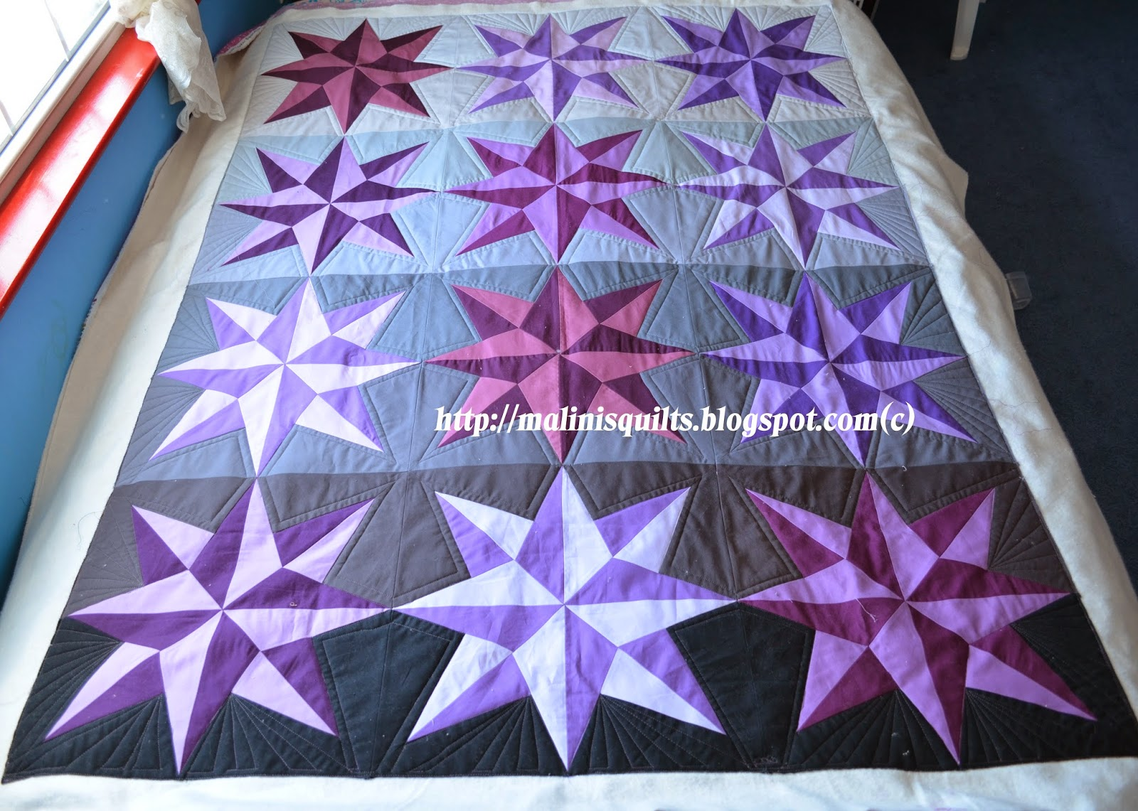 My Sewing and Quilting Adventures: 2014 Pantone Quilt Challenge ... : starburst quilt - Adamdwight.com