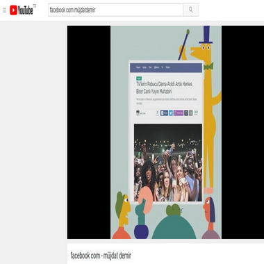 youtube com - facebook com - müjdat demir