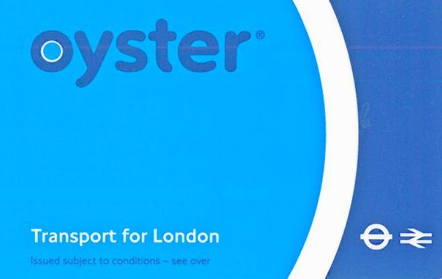 Η  κάρτα για τα Μ.Μ.Μ  του Λονδίνου :