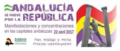 Andalucía se mueve por la República