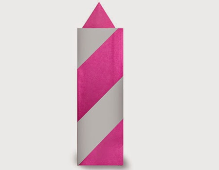Hướng dẫn cách gấp cây nến bằng giấy đơn giản - Xếp hình Origami với Video clip - How to make a Candle 2