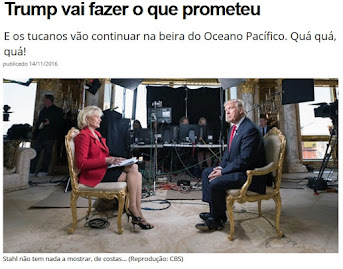 Paulo Henrique Amorim interpreta Donald Trump com a devida acidez