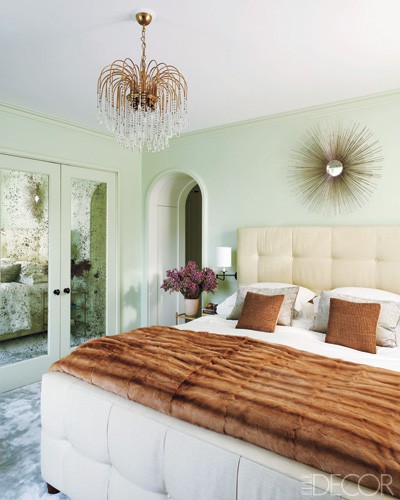 Bedroom Mint Green Wall Scheme In Toddler Boys Bedroom: Orange Door Home: HOME