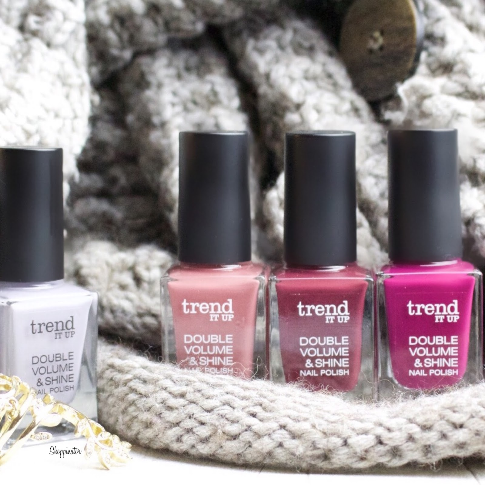 DM Eigenmarke \'Trend it up\' - Nagellack Swatches + Review - Shoppinators