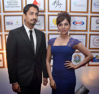 Samantha and Siddharth at Food for change charity show