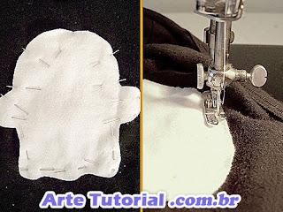 Como costurar aplique em camisa e reciclar