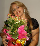 Rebeba as flores que lhe dou.....
