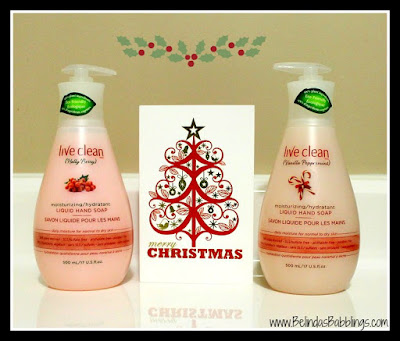 Live Clean Holiday Liquid Hand Soap Collection