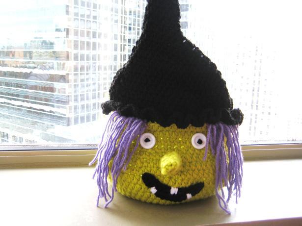 Boo Halloween Witch Basket Free Pdf Crochet Pattern Crochet Dreamz