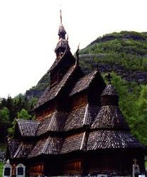 Borgund Stavkyrkje i Lærdal