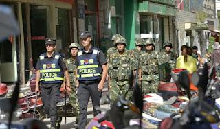 Lagi, Cina Tahan Ratusan Muslim Uighur
