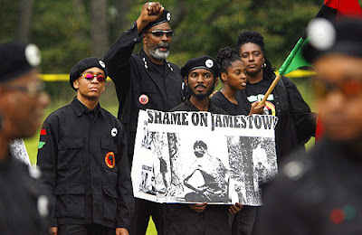 new black panther party voting pressure