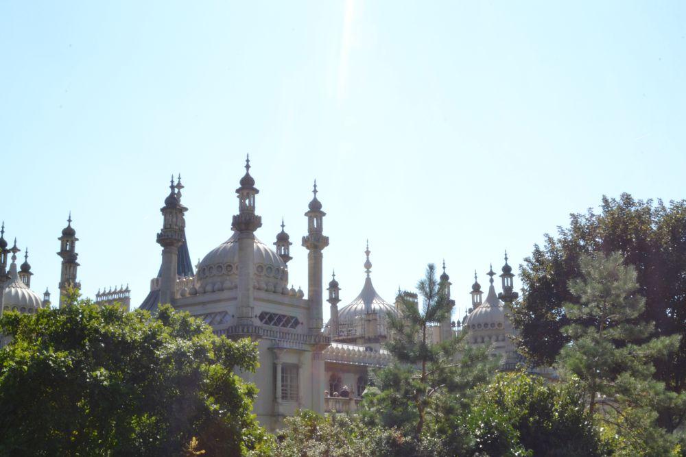 brighton pavillion exterior