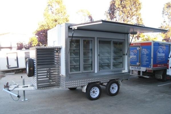 Portable Kitchen Trailer : Portable mini mobile kitchen trailers