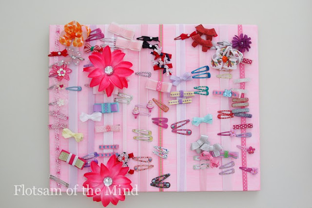 Hair Accessories Organizer - Flotsam of the Mind