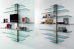 Multinotas repisas de vidrio dise os decorativos for Banos con repisas de vidrio