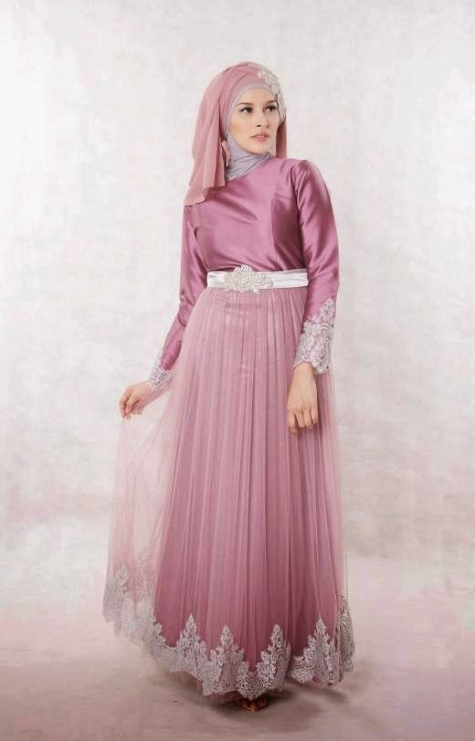 Model Dress Busana Muslim Cantik dan Elegan