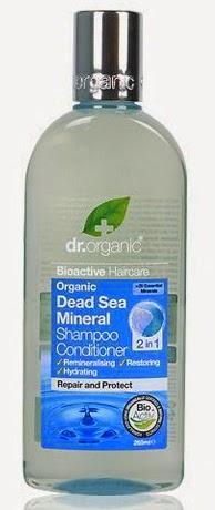 dr organic minerales mar muerto champu acondicionador