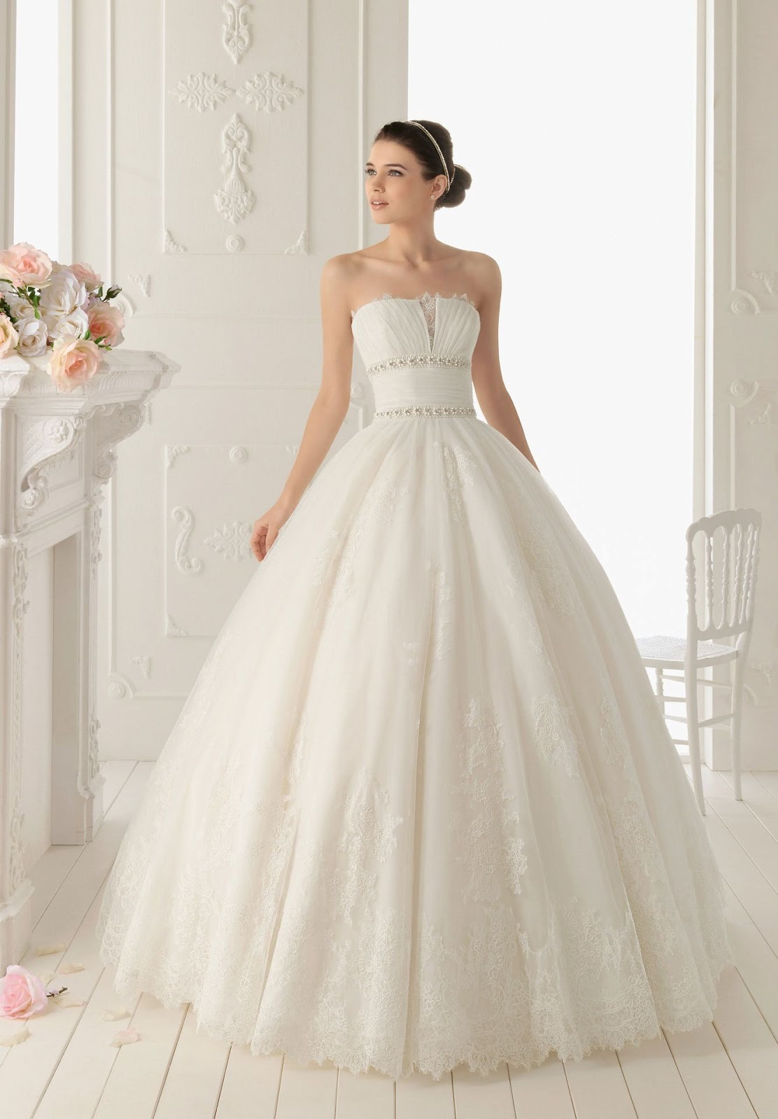 Generous Hairstyles For Ball Gown Dresses Ideas - Images for wedding ...