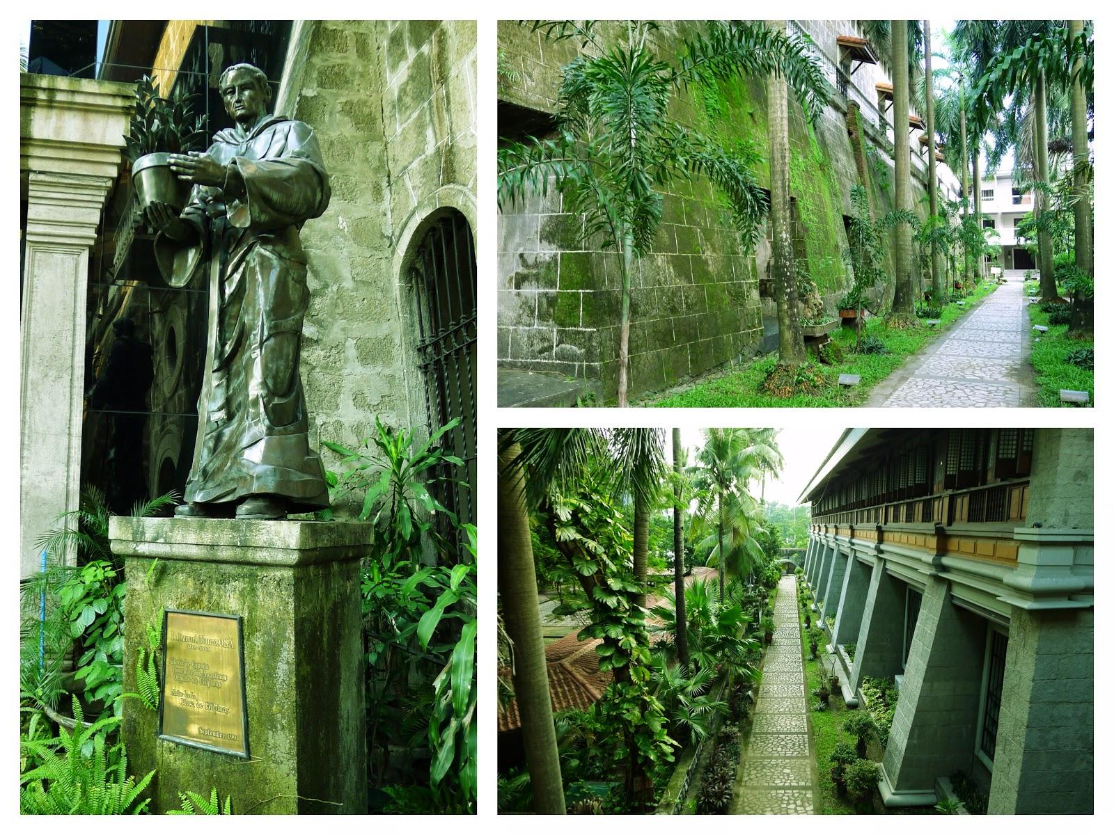 San Agustin Museum Garden