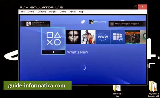 ps4 emulatore pc