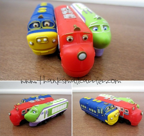 Hallmark Chuggington Christmas ornament