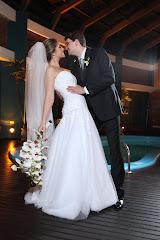 Os noivos!