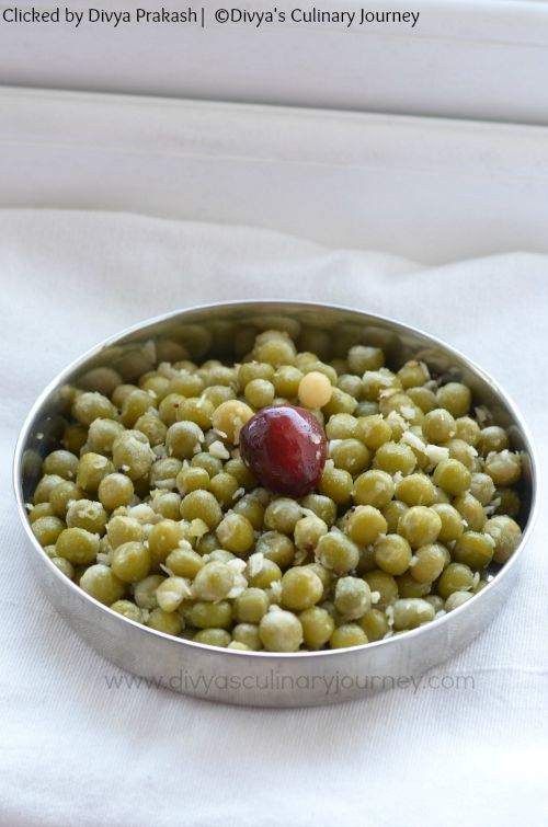 how to make peas sundal