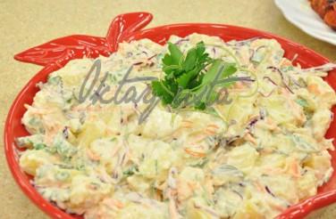 Turşulu Yoğurtlu Patates Salatası Tarifi
