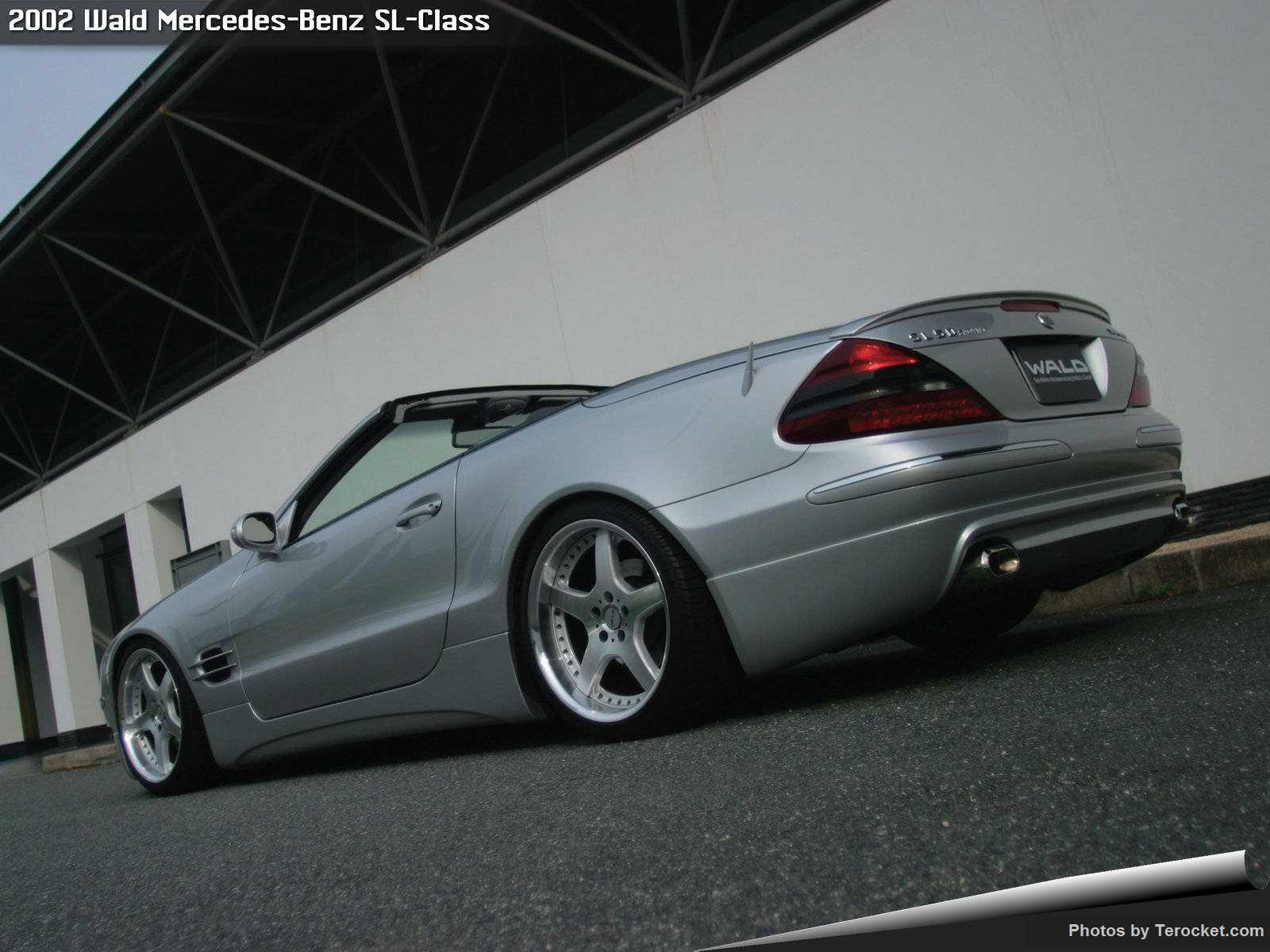 Hình ảnh xe độ Wald Mercedes-Benz SL-Class 2002 & nội ngoại thất