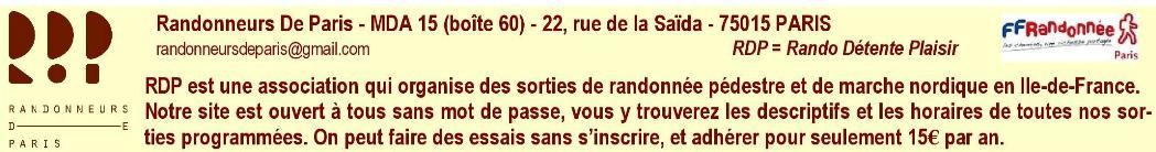 Randonneurs De Paris (RDP)
