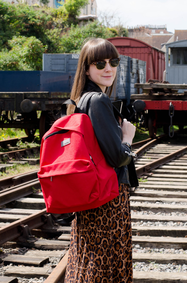 Red Ferdinand Antler Backpack