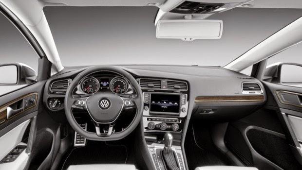 Posible diseño final del interior del Volkswagen Passat 2015