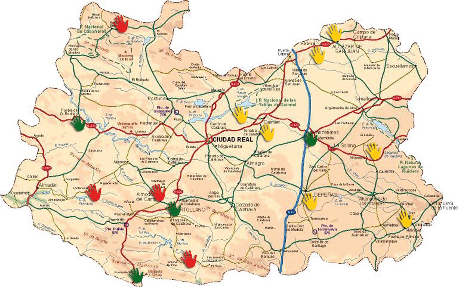 Plumaroja 2 0 el mapa de la verguenza - Plano de ciudad real ...