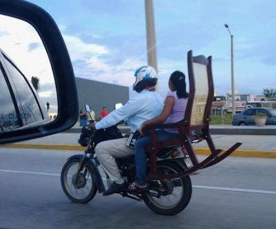 rocker chair bike